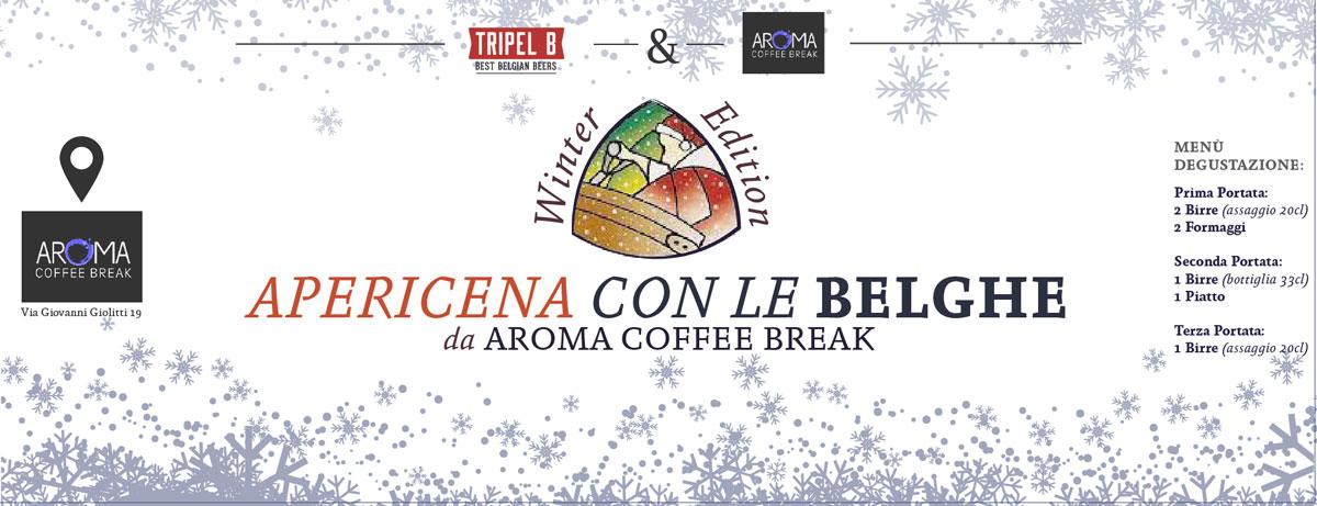 L'apericena con le belghe Van Den Bossche e anche la birra di natale Kerst Pater Special a Torino