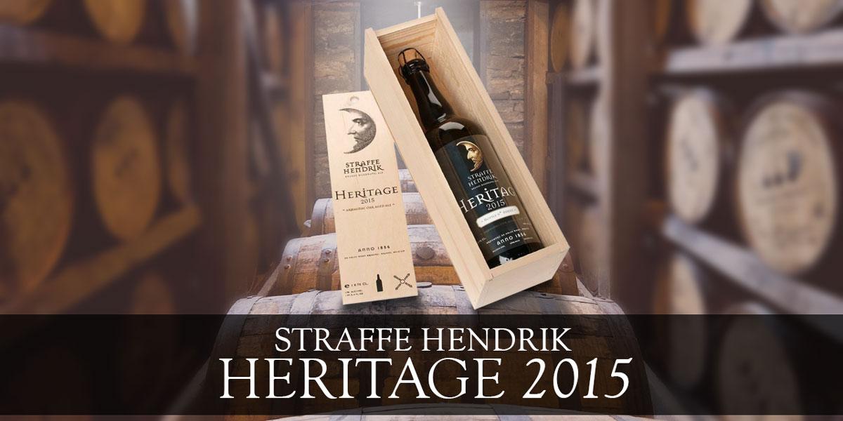 La Straffe Hendrik Geritage 2015 di De Halve Maan si può trovare da Tripel B a Torino, in edizione limitata e numerata in eleganti cofanetti di legno