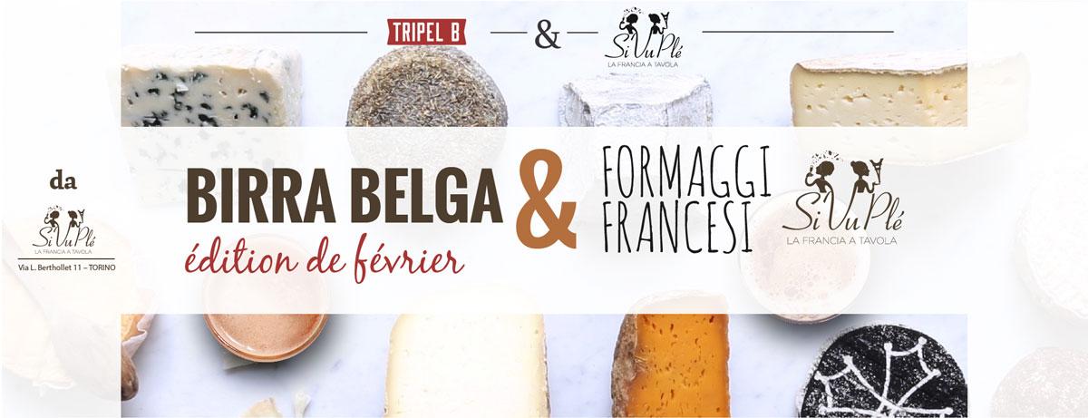Foodpairing birra belga e formaggi francesi