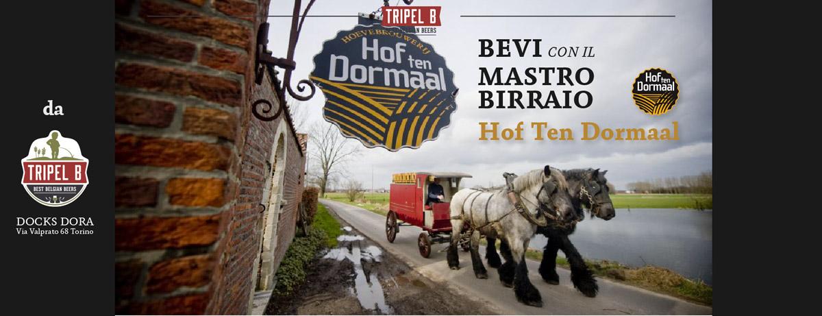 Bevi con il Mastro Birraio: Hof Ten Dormaal   Da Tripel B assaggiamo le migliori birre belghe a Torino di Hof Ten Dormaal