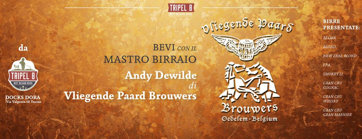 Bevi con il Mastro Birraio - Vliegende Paard Brouwers - Préaris   Da Tripel B la birra belga a Torino