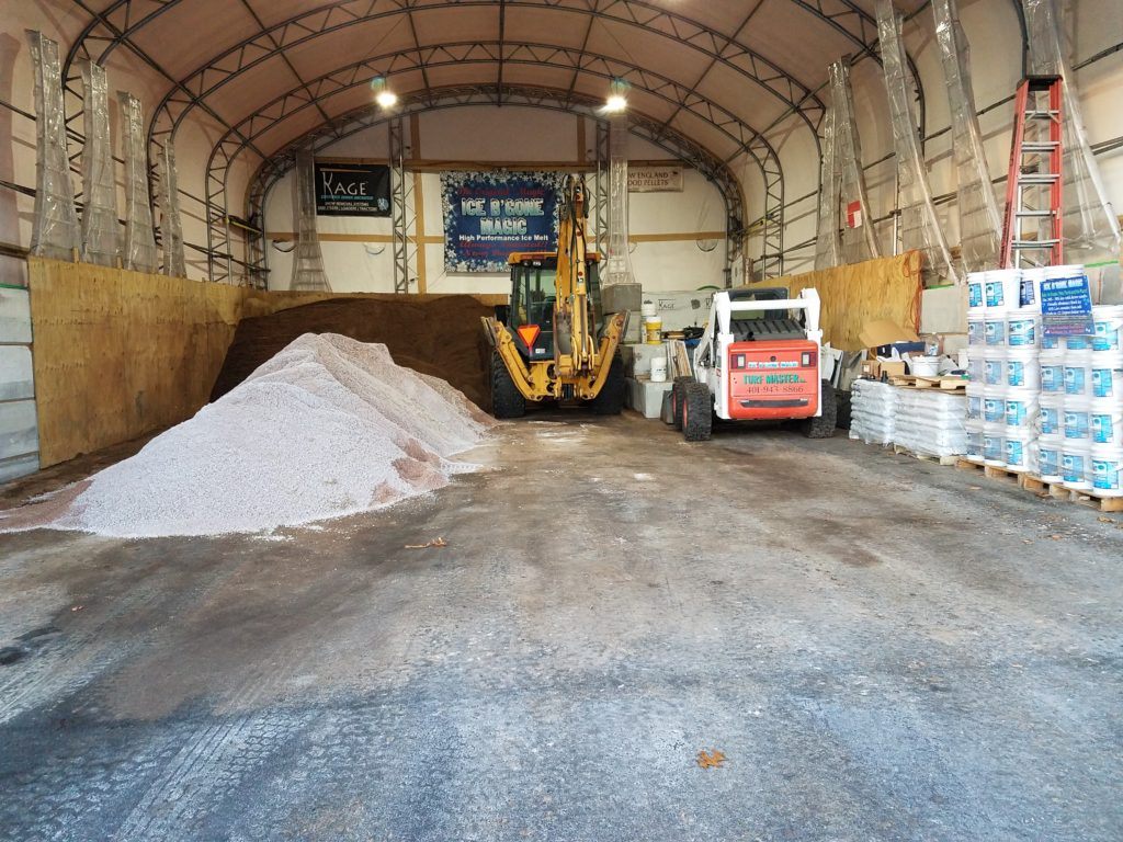 Untreated Salt Pile