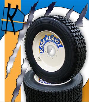 Kage Klaws/Bobcat Skidsteer Snow Tires