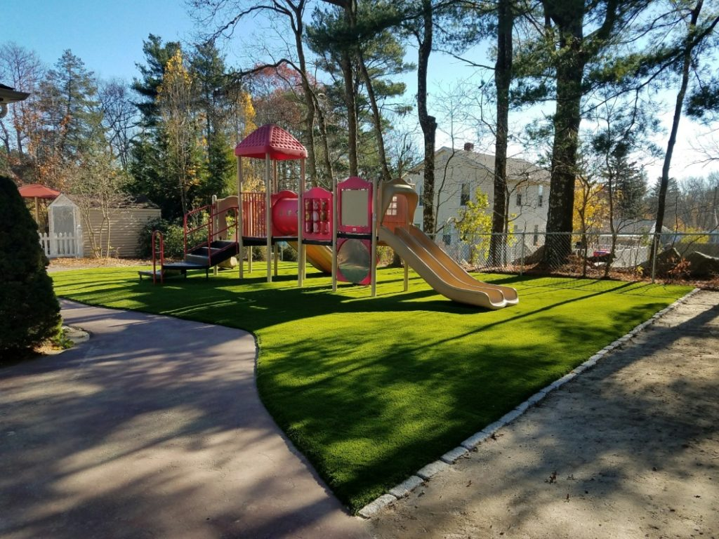 Synthetic Turf Playground