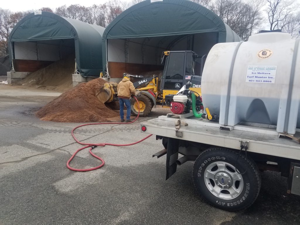 Salt Pile Spraying/Treatment Service