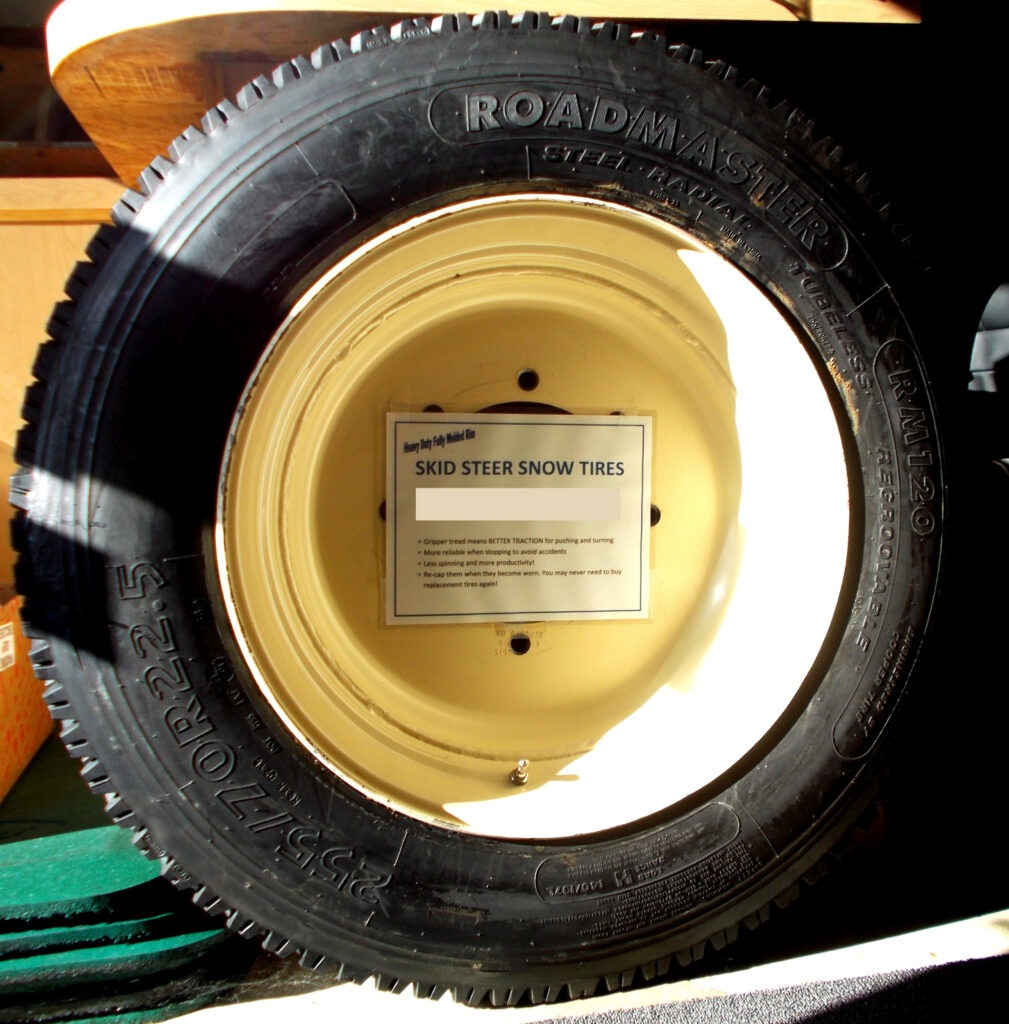 Bobcat Skidsteer Snow Tire