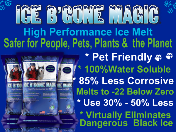 ICE B'GONE MAGIC TREATED SALT
