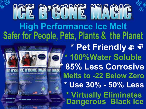 ICE B'GONE MAGIC TREATED SALT