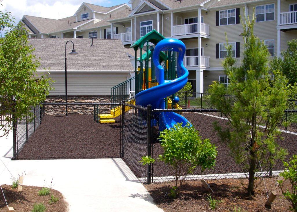 Rubber Mulch Playground