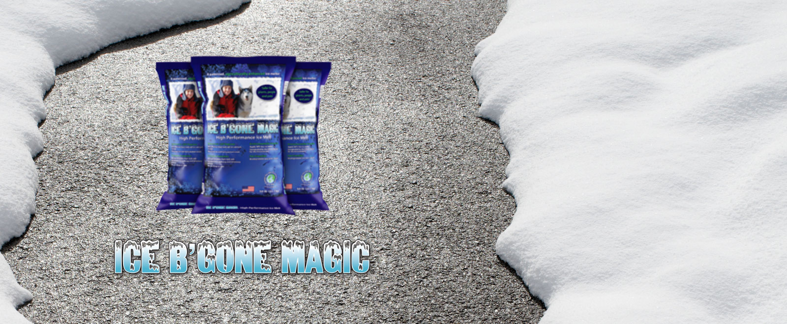 ICE B'GONE Magic High Performance Treated Salt