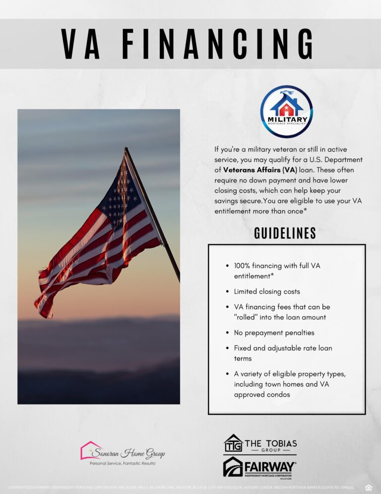 Using a VA Home Loan - Sonoran Home Group