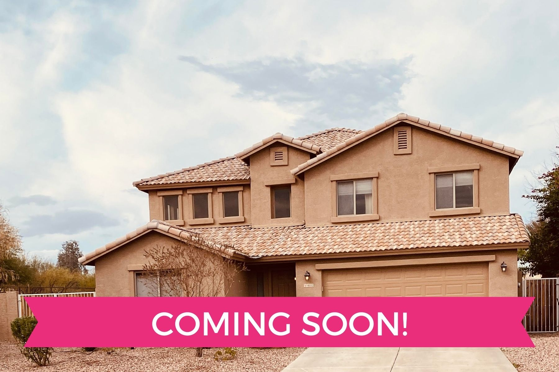 Phoenix and Scottsdale Realtor Coming Soon - Sonoran Home Group