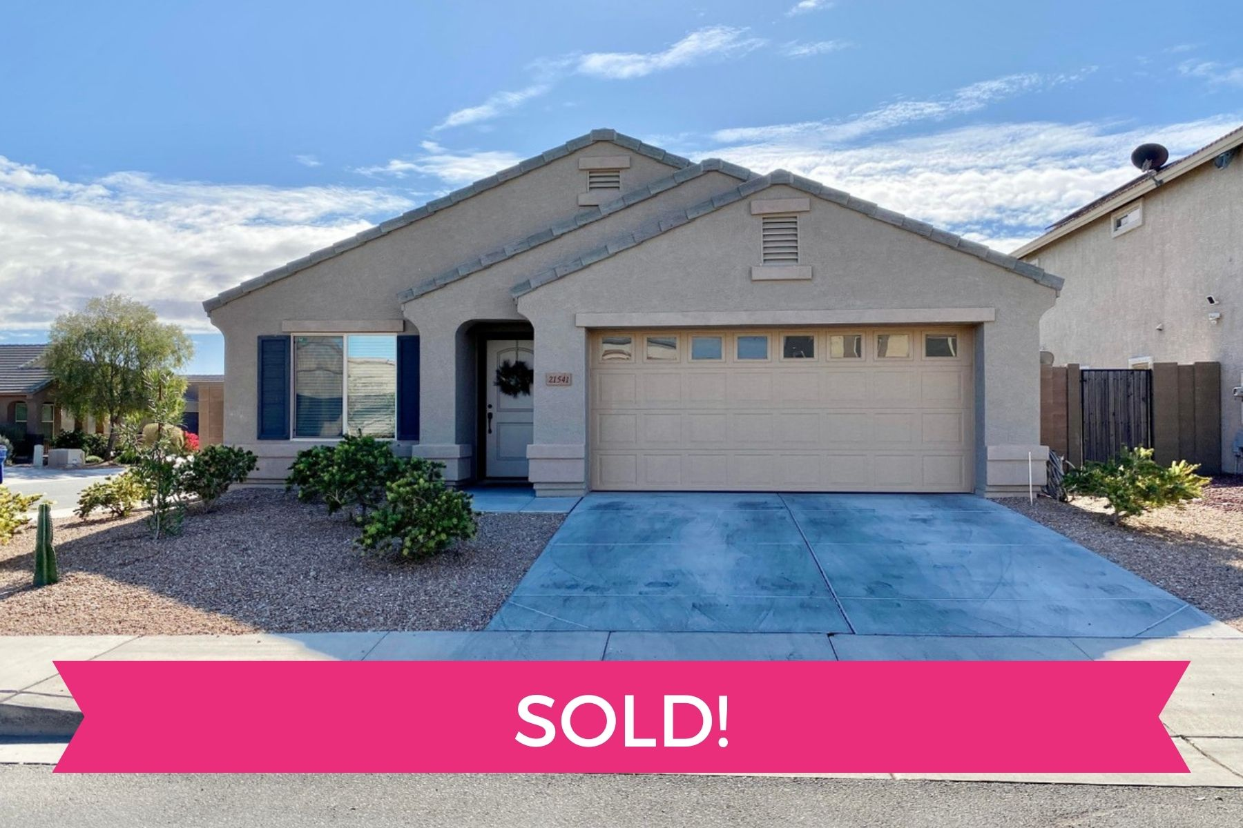 home sold by Phoenix and Scottsdale realtors Sonoran Home Group