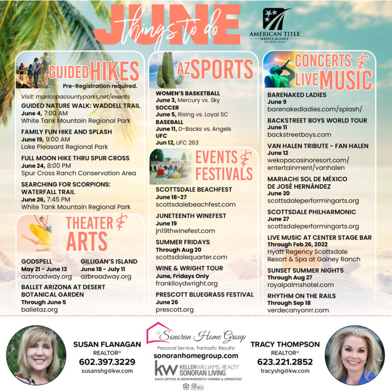 Things to Do In Phoenix and Scottsdale in June