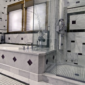 Carrara Marble bath (2)