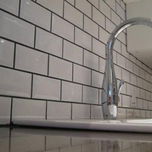 kitchen backsplash subway tile
