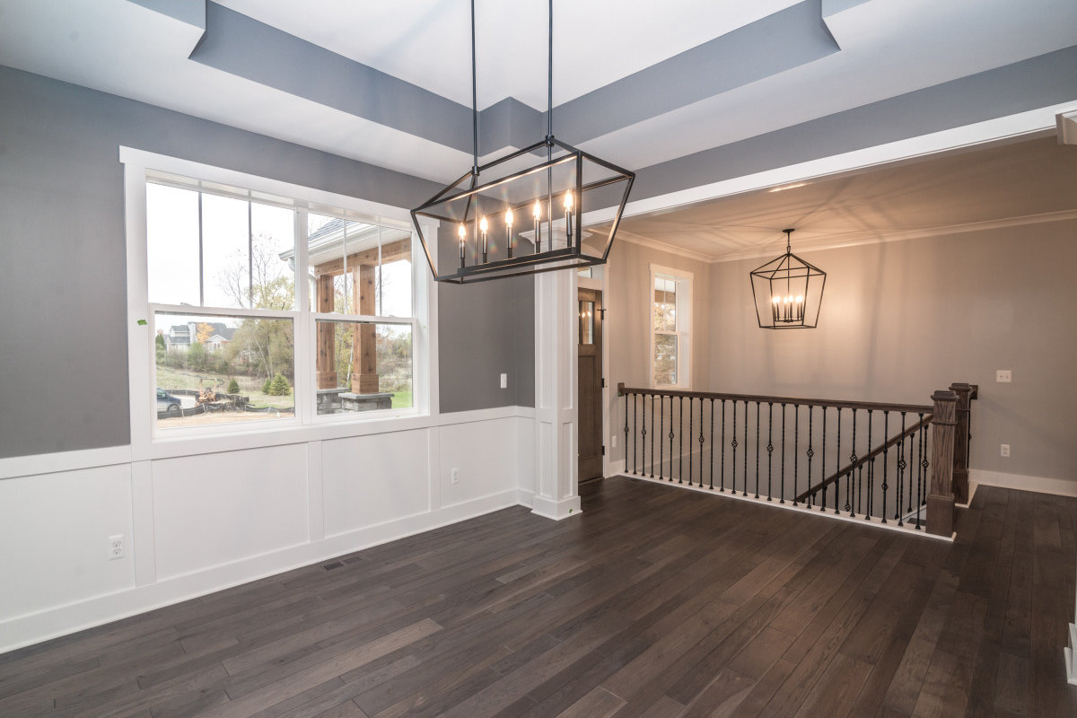 Walkout Custom Ranch with Finished Basement -Dinning area