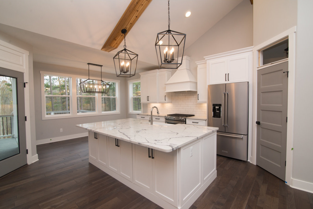 Walkout Custom Ranch with Finished Basement - Kitchen Cabinet 2