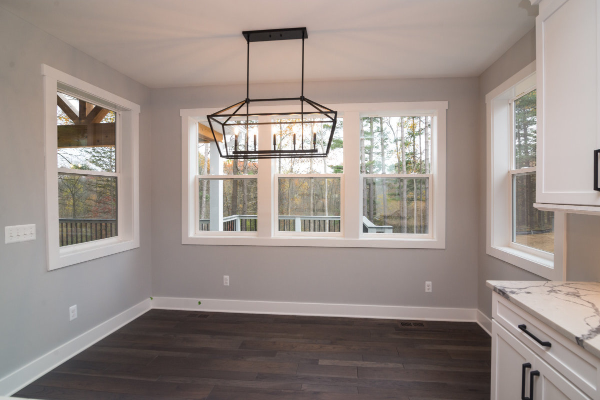 Walkout Custom Ranch with Finished Basement - Breakfast-Nook
