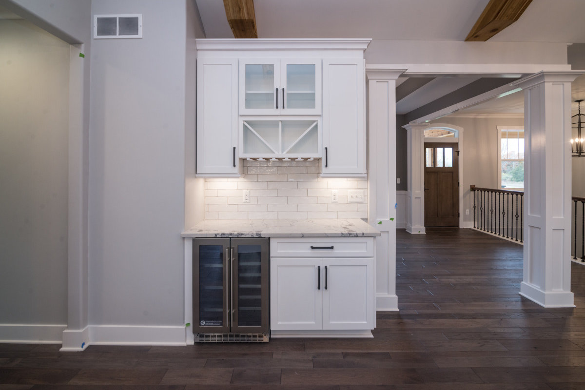Walkout Custom Ranch with Finished Basement - Wine Bar and Hall