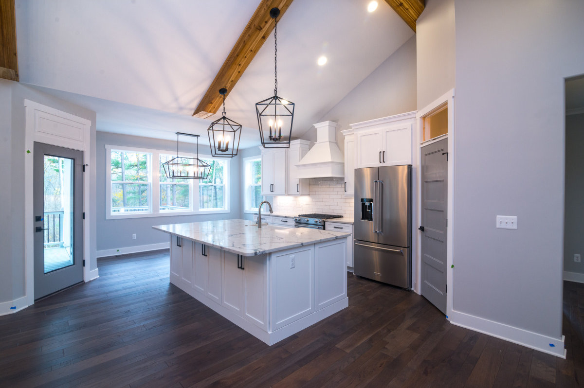 Walkout Custom Ranch with Finished Basement - Kitchen
