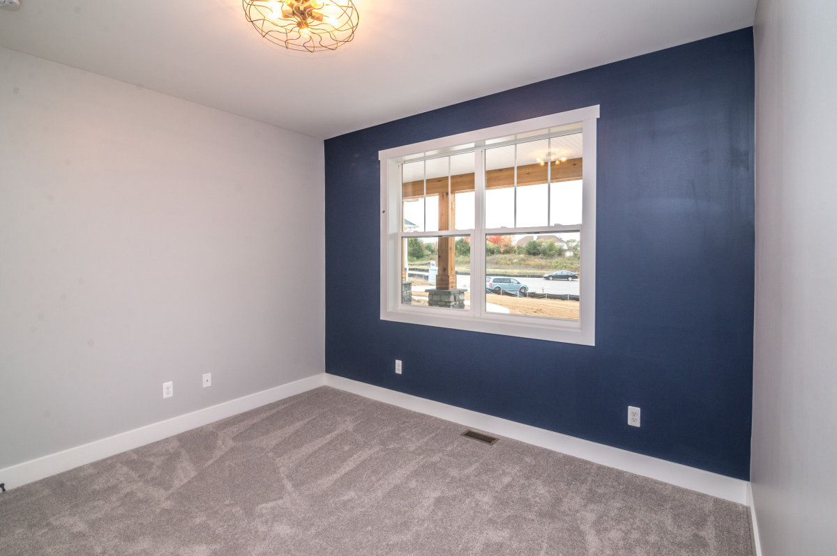 Walkout Custom Ranch with Finished Basement - Bedroom 1a