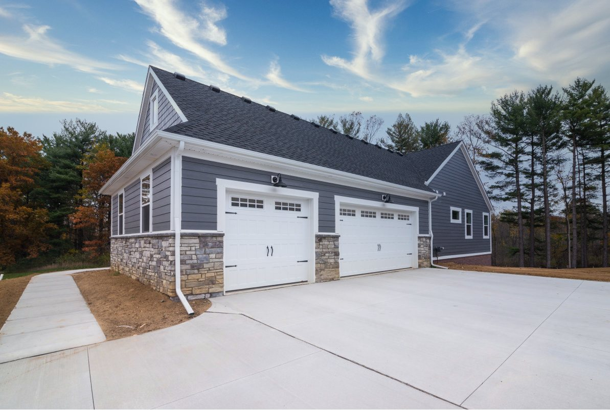Walkout Custom Ranch with Finished Basement - Garage