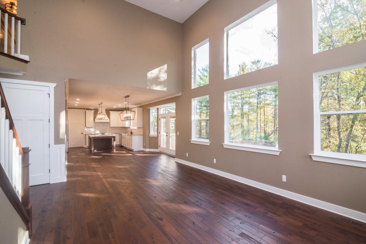 Two Story Custom Craftsman - Living Room