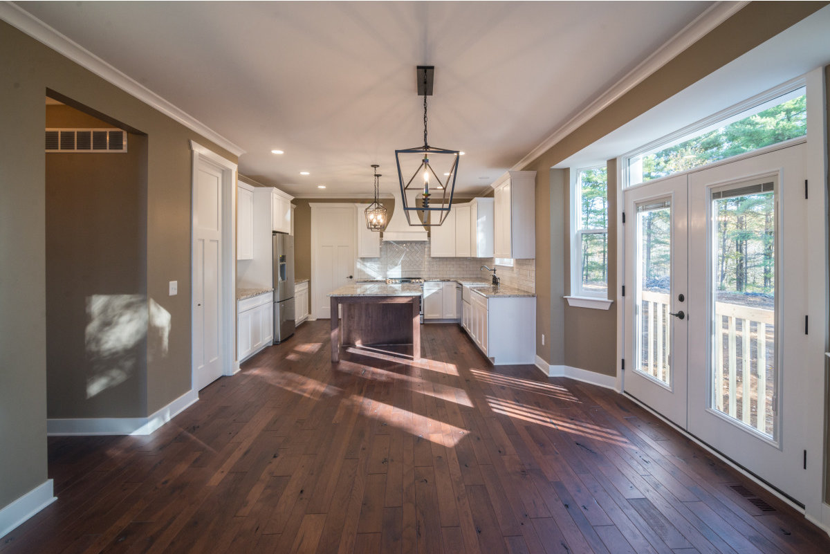 Two Story Custom Craftsman - Open Design and Kitchen