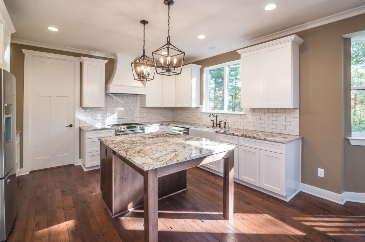 Two Story Custom Craftsman - Kitchen Area