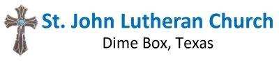 Logo for St. John Lutheran Church