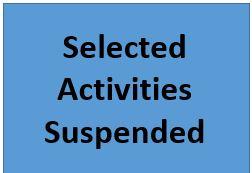 Activities Suspended