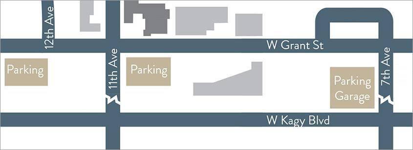 MSU Parking Map