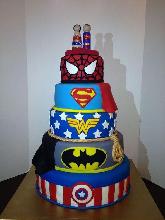 quinceanero tematico super heroes