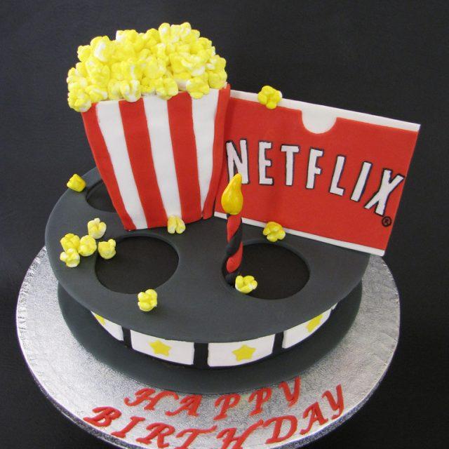 Fiesta de 15 temática de Netflix, ¡Acción!