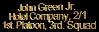 john-green-squad