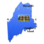 Maine Map with Lee Academy