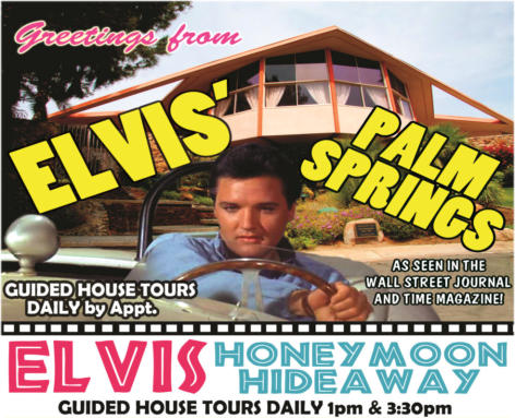 Visit Elvis' Palm Springs home that inspired two upstairs suites at the Guest House at Graceland™