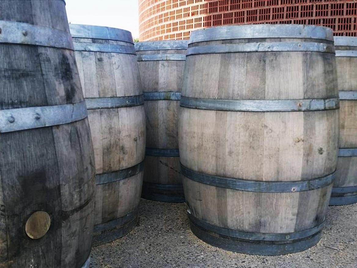 Brophy Creek Wine Barrel