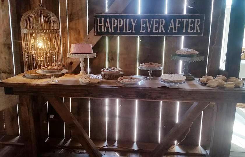 Brophy Creek Dessert Display