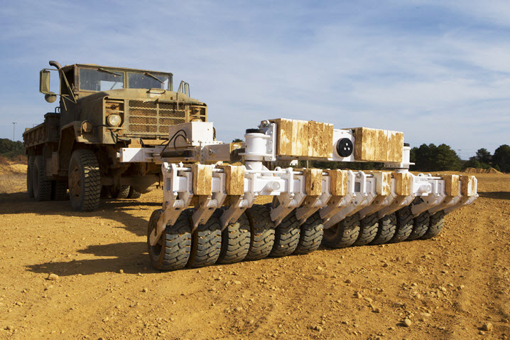 Landmine and IED Rollers