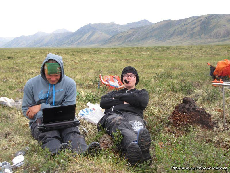 Permafrost Field studies: Blackstone Uplands