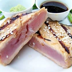 Sesame Seared Tuna Steaks
