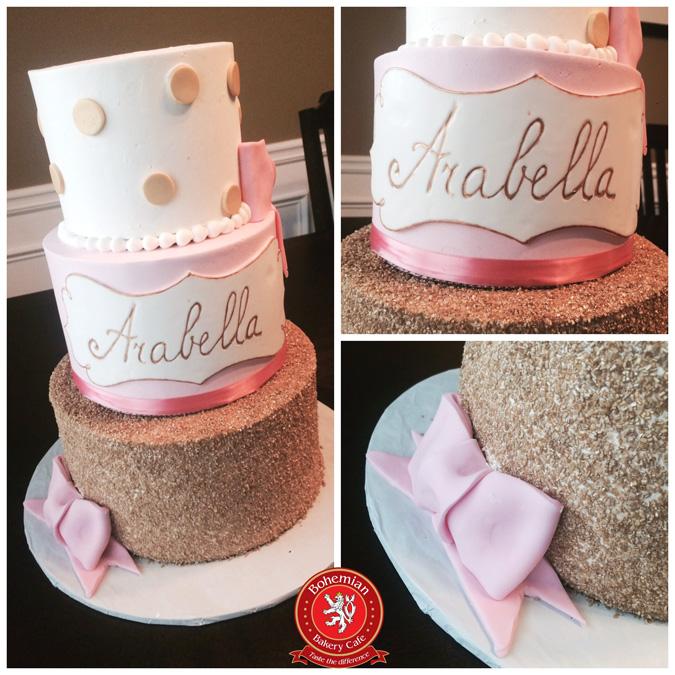 ARABELLA PINK GOLD CAKE
