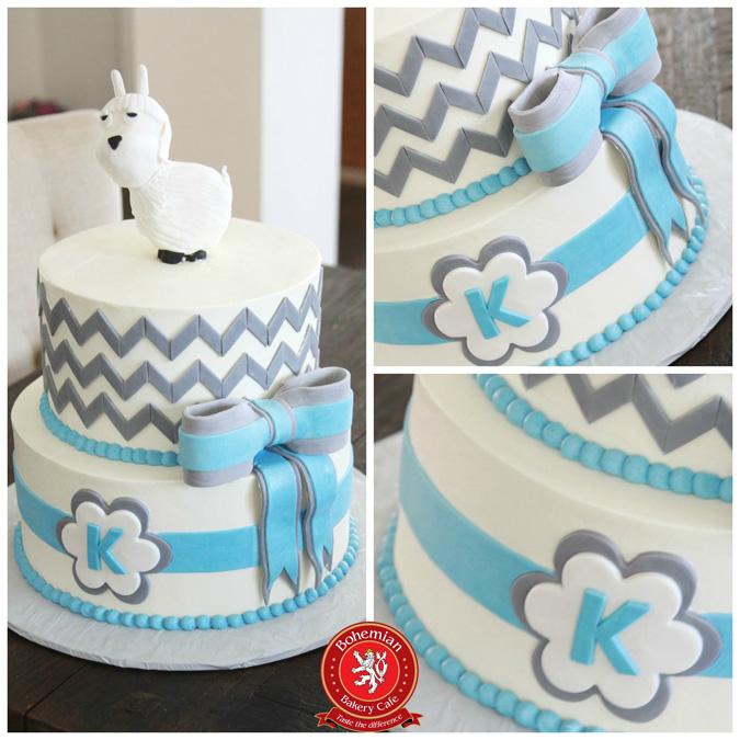 MODERN GOAT CAKE