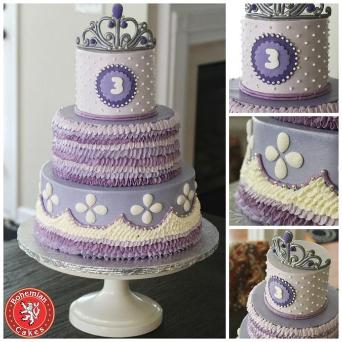LILAC PRINCESS CAKE
