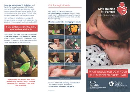 CPR for Children Training Parents