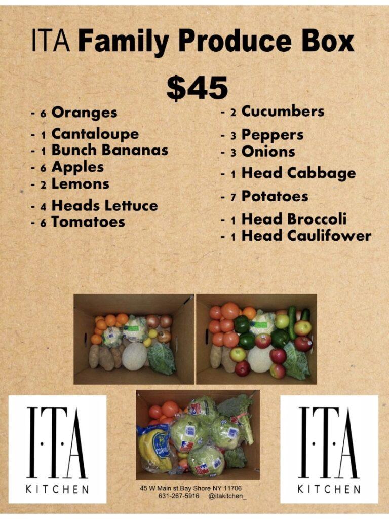 ITA Family Produce Box