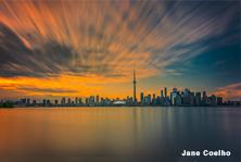 skyline-sunset