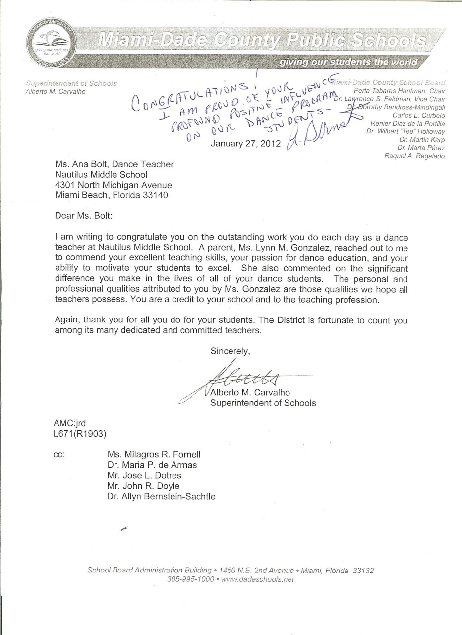 letter from alberto